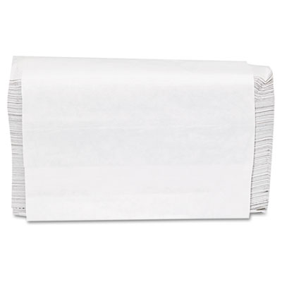 GEN Folded Paper Towels, Multifold, 9 x 9 9/20, White, 250 Towels/Pack, 16 Packs/CT GEN1509