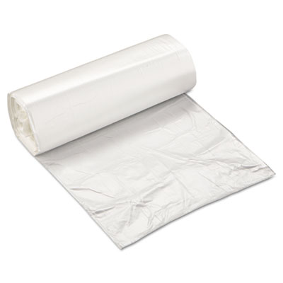 Inteplast Group High-Density Can Liner, 24 x 24, 10gal, 5mic, Clear, 50/Roll, 20 Rolls/Carton IBSEC2424N
