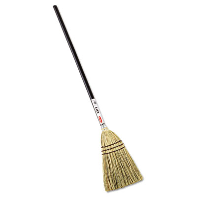 Rubbermaid Commercial Lobby Corn-Fill Broom, 38 Handle, Brown RCP6373BRO