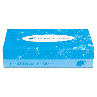 GEN Boxed Facial Tissue, 2-Ply, White, 100 Sheets/Box GENFACIAL30100