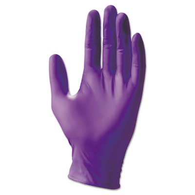 Kimberly-Clark Professional* PURPLE NITRILE Exam Gloves, Powder-Free, 252 mm Length, Large, 50 Pair/Box KCC55093