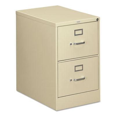 HON 310 Series Two-Drawer, Full-Suspension File, Legal, 26-1/2d, Putty HON312CPL