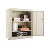 ALECM4218PY Alera Assembled 42 High Storage Cabinet, w/ Adjustable Shelves, 36w x 18d, Putty