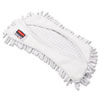 RCP Q861 WHI Rubbermaid Commercial HYGEN HYGEN Flexi Frame Damp Mop Covers, Microfiber, White, 8.9 x 5.9