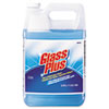 DVO 94379 Glass Plus Glass Cleaner, Floral Scent, Liquid, 1 gal. Bottle