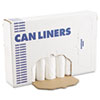 BWK 2432EXH Boardwalk Extra Heavy-Grade Can Liners, 24 x 32, 16-Gallon, .40 Mil, White, 25/Roll