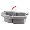 RCP 2649 GRA Rubbermaid Commercial Maid Caddy, Gray