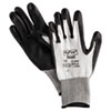 ANS 11624-10 AnsellPro HyFlex Dyneema Cut-Protection Gloves, Gray, Size 10