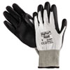 ANS 11624-9 AnsellPro HyFlex Dyneema Cut-Protection Gloves, Gray, Size 9