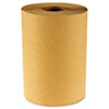 BWK 6256 Boardwalk Hardwound Paper Towels, Nonperforated 1-Ply Kraft, 800'