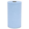 HOS C2375B Hospital Specialty Co Prism Scrim Reinforced Wipers, 4-ply, 9.75 x 275 ft Roll, Blue